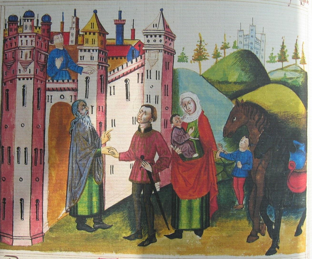 Libro del Caballero Zifar (Paris, Biblothéque Nationale, Espagnol 36)